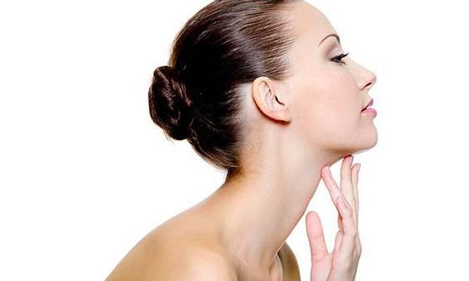 Image result for vùng da phía sau tai